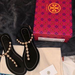 Tory Burch Emmy pearl sandals